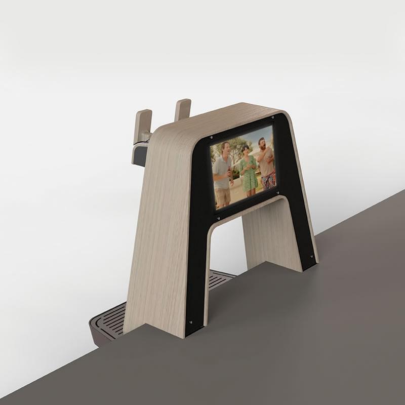 Diseño, personalización y fabricación de tiradores de cerveza The Arch