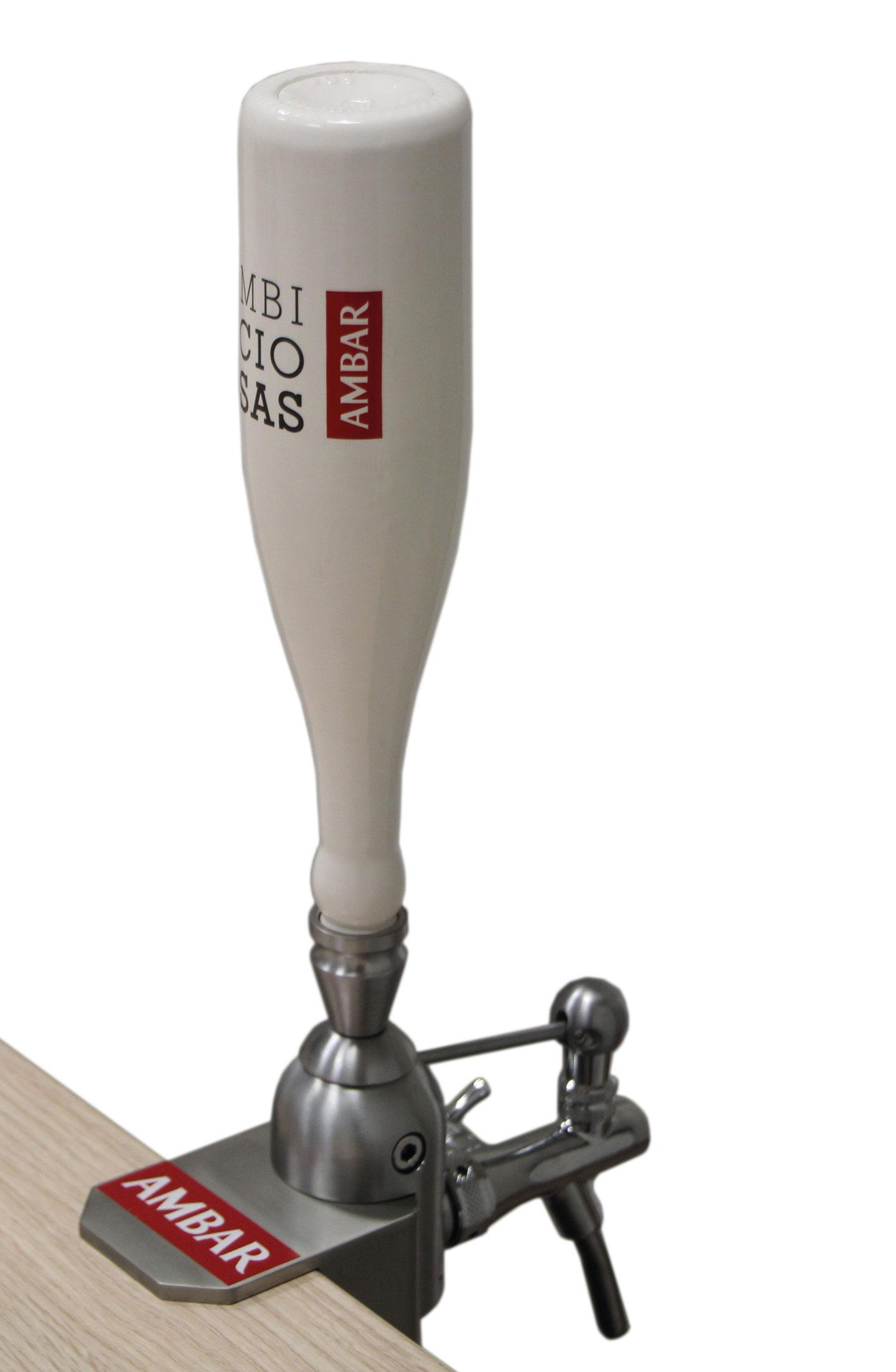 columna de cerveza para Ambar - La Zaragozana