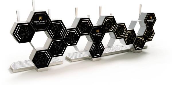 Diseño e innovación. La gran superficie que abarca SENTI dará a tu marca la máxima visibilidad para que sea el gran protagonista en el bar.
