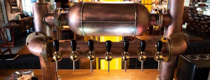 Alambique artesanal y cervecero para el Grupo Tibu-Ron