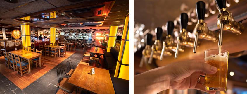 Detalle del bar del grupo Tibu-Ron